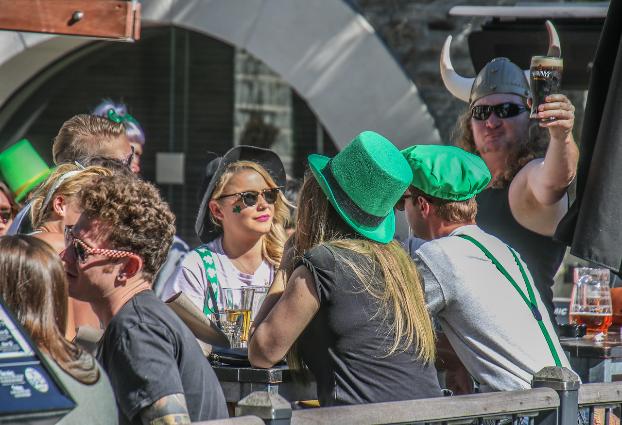 St. Patrick's Day in Queenstown