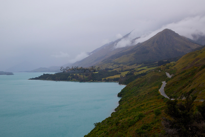 Lake Wakatipu on the way to Glenorchy