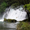 Another waterfall on the Tarawera River walk.