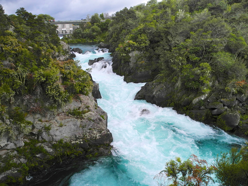 Aratiatia Rapids in full flow