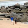 Russell and Mark at Matai Bay 02/2007