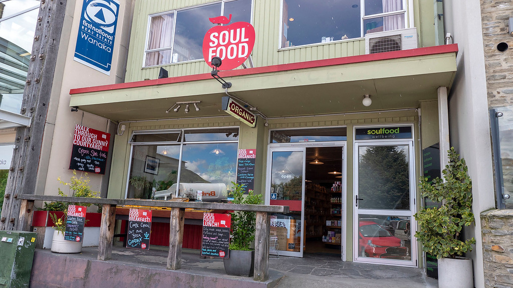 Soulfood in Wanaka New Zealand