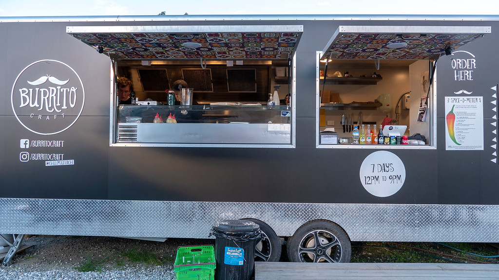 Burrito Craft Food Trailer in Wanaka New Zealand