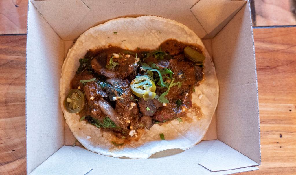 Vegan burrito from Burrito Craft in Wanaka NZ