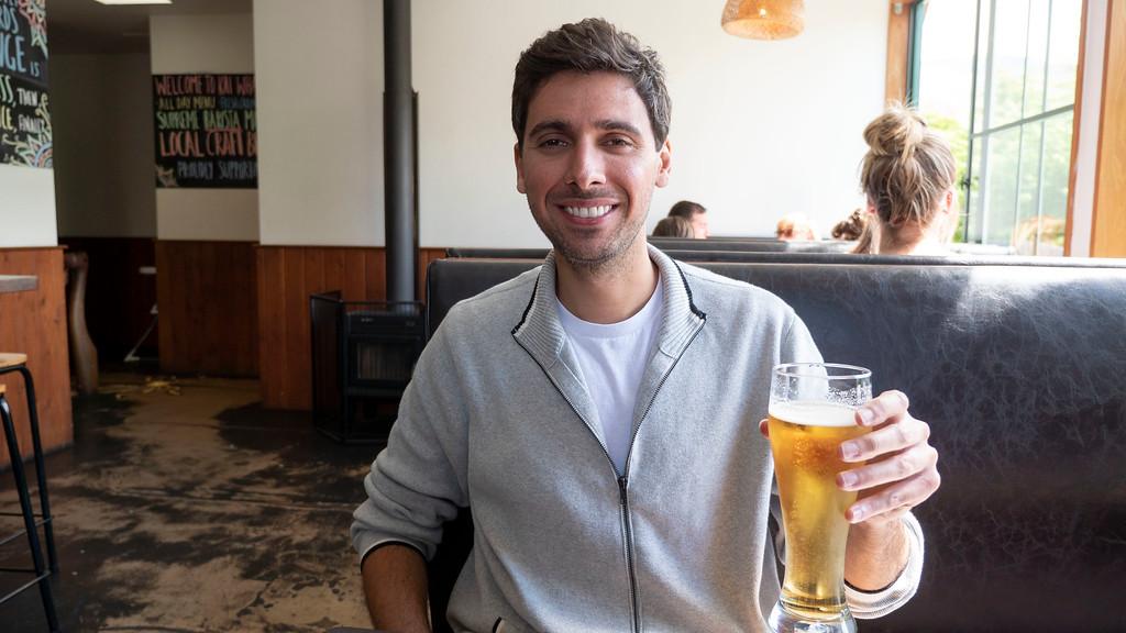 Justin at Kai Whakapai in Wanaka - Wanaka vegan restaurants