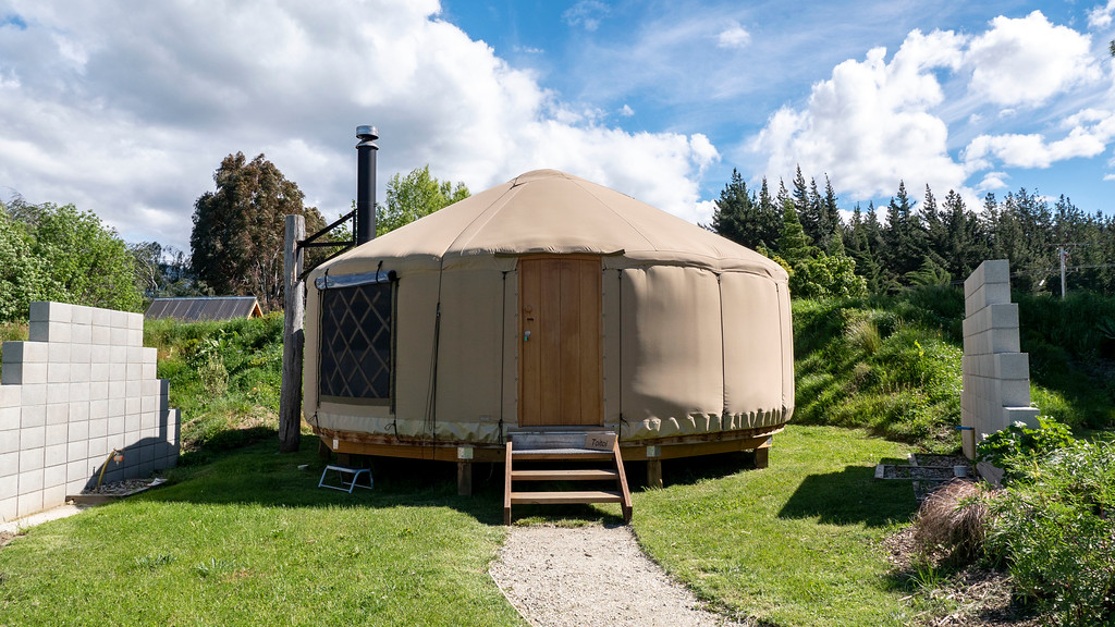 Where to Stay in Wanaka NZ - Oasis Yurts - Oasis Yurt Lodge & The Shed