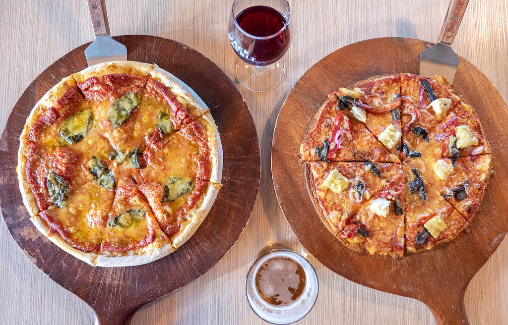 Jack Rabbit Restaurant Wanaka New Zealand - Vegan pizza