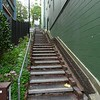 Steep stairs in Wellington, New Zealand in January 2017