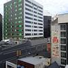 Buildings in Wellington, New Zealand in January 2017