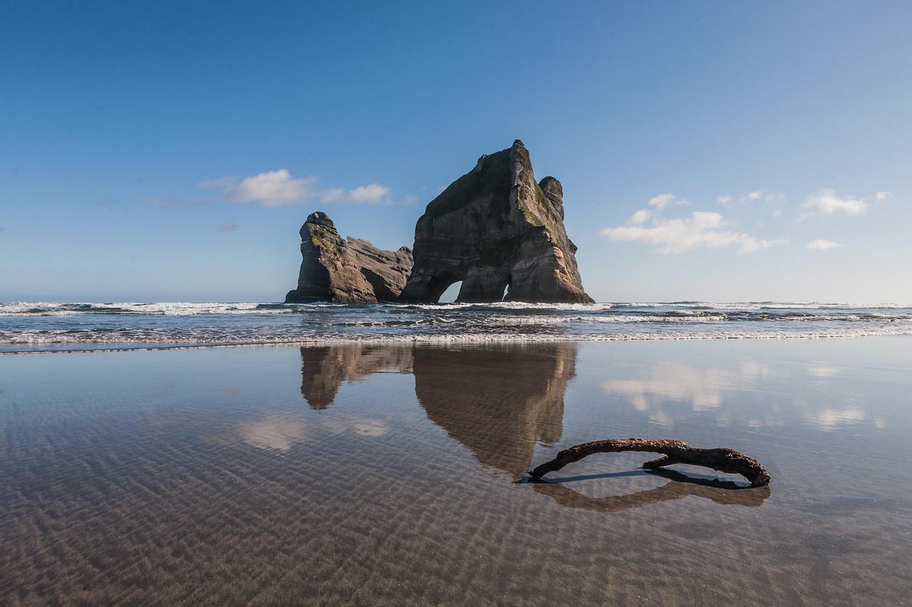 Wharariki beach South Island, New Zealand