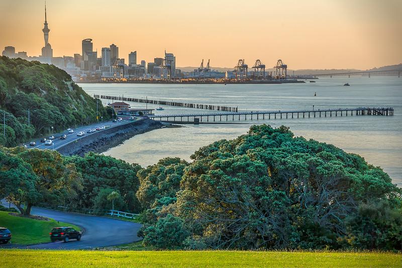 MJ Savage Memorial Park, Auckland