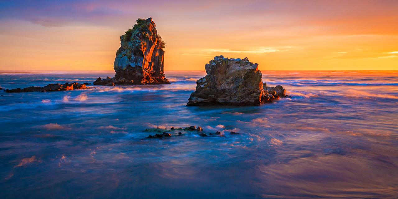 Shag Rock, pre Christchurch earthquake...
