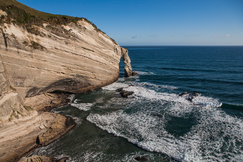 Cape Farewell, The northernmost point of South Island, New Zealand