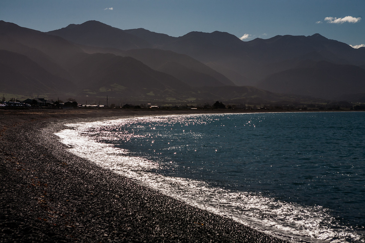 The Kaikoura coast, New Zealand