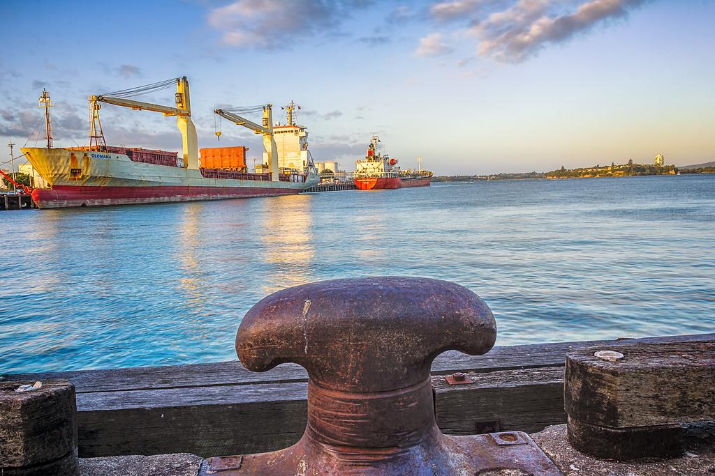 Ships in dock | Wynyard Quarter