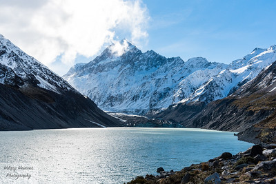 Hooker Lake and Mt. Cook