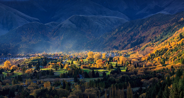 Arrowtown From Above