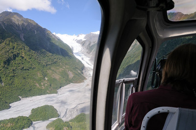 Going to the Fox Glacier