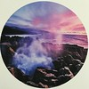 2018-03-05 - 16 Pancake Rock Blowhold decal poster in Greymouth NZ shop