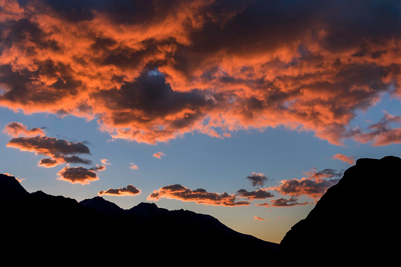 Mount Cook Village Sunrise