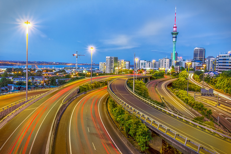 Spaghetti Junction, Auckland, New Zealand