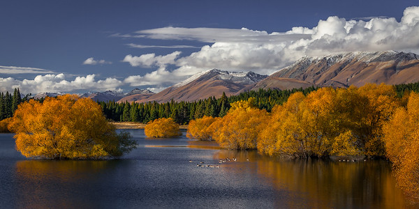 Lake Tekapo and the Southern Alps