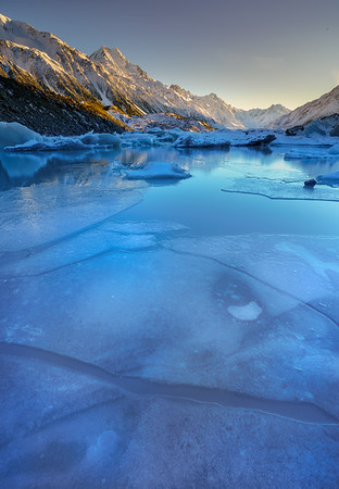 Tasman Lake Ice
