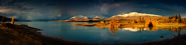 Lake Tekapo Last Light