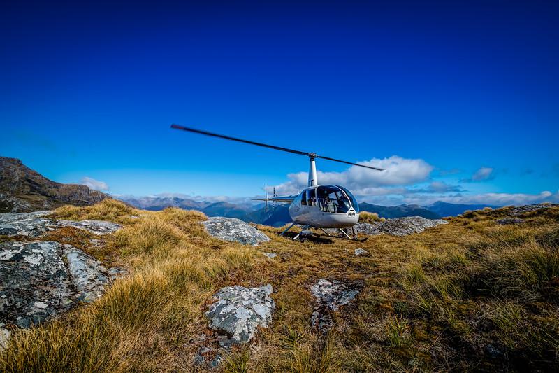 Mountain Landing