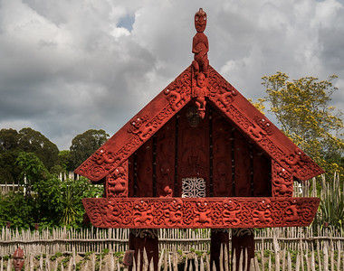 Maori Model of House