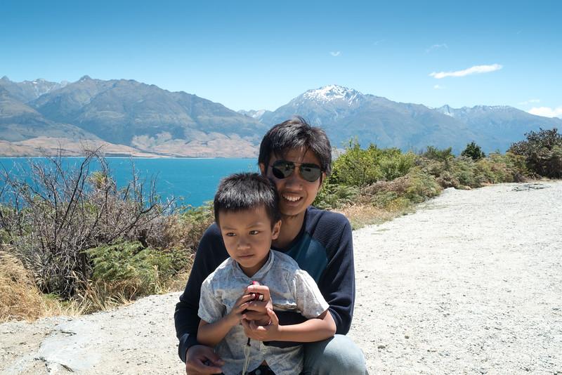 """This world is beautiful"" - Ridzuan and Rifqi, originally from Malaysia, living in New Zealand"
