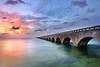 7 Mile bridge Florida Keys a 16x24