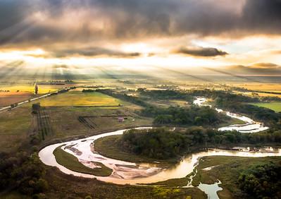 Elkhorn River Sunrise.