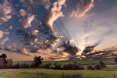 Saturday Morning Sunrise.