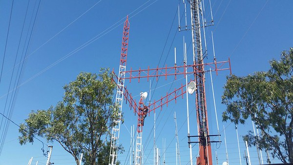 Already 5 antennas and just day 1, good job CIMSA and CREBC.