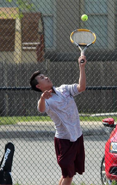 Lynn, Ma. 5-17-17. Lynn English first singles Andy Nguyen.