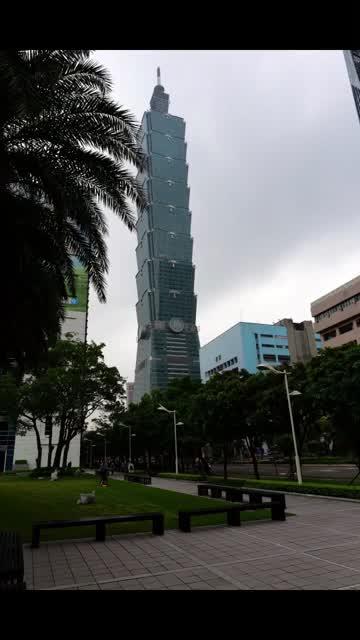 2017 Taiwan, Taipei 101 building.