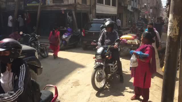 2017 Nepal, Katmandu Senter.