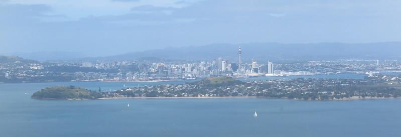 Auckland CBD from Rangitoto Island