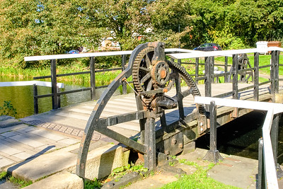 Forth & Clyde Canal Swing Bridge Lock