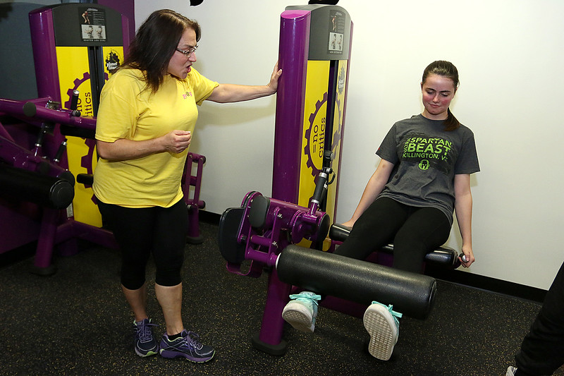 planet fitness trainer