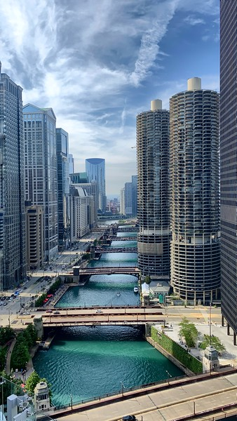 Roof Top View of the Chicago River