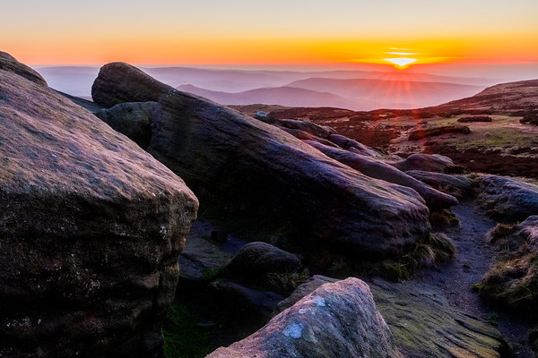Sunset from Kinder