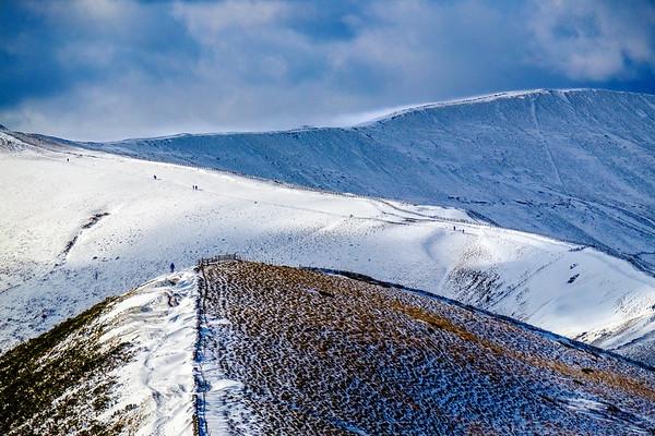 Rushup Edge and the Great Ridge, Peak District