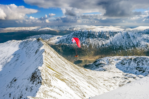 Paraglider, Helvellyn