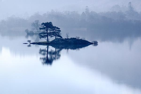 Early morning mist, Ullswater