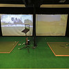 A new indoor golf facility has opened in Fitchburg on Airport Road called Birdies. A view of the two spots they have for customers to practice at. SENTINEL & ENTERPRISE/JOHN LOVE
