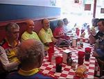 CLICK ON PICTURE TO VIEW VIDEO. LUNCH AT JOHNNY'S PIZZA