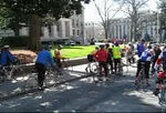 Today (3-7-06) we joined the Roswell Bike Ride to the Capitol