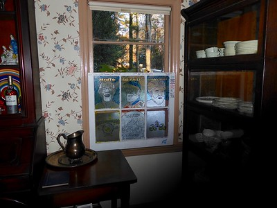 The Whiteman's placed in their Dining Room